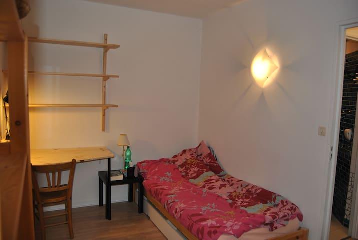 Studio entier calme (1pers) proche CV - Besançon - Apartment