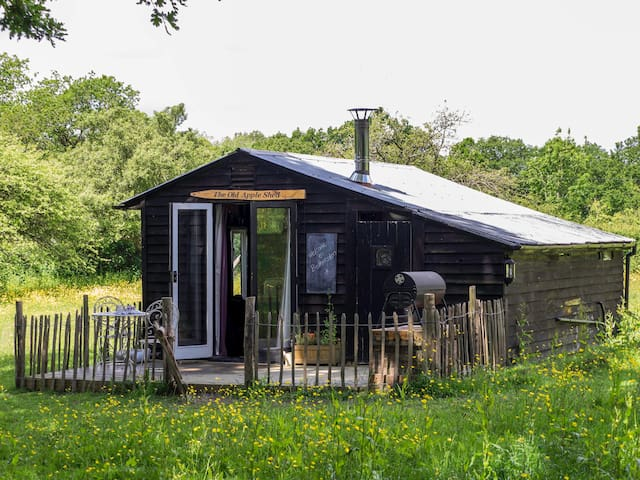 The Old Apple Shed (Set in its own private meadow) - Ashford - Hutte