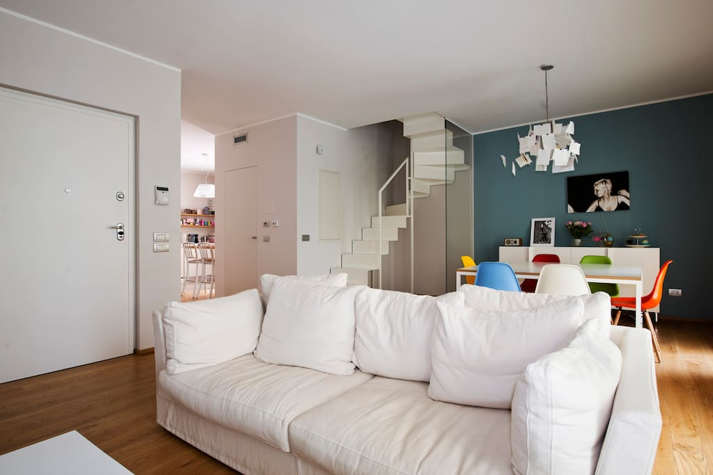 Living room shared space