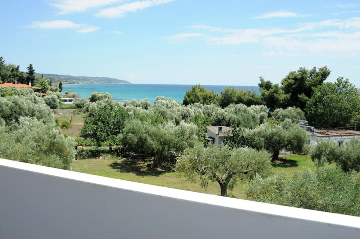 House with sea view & above beach! - Chalkidiki - Casa