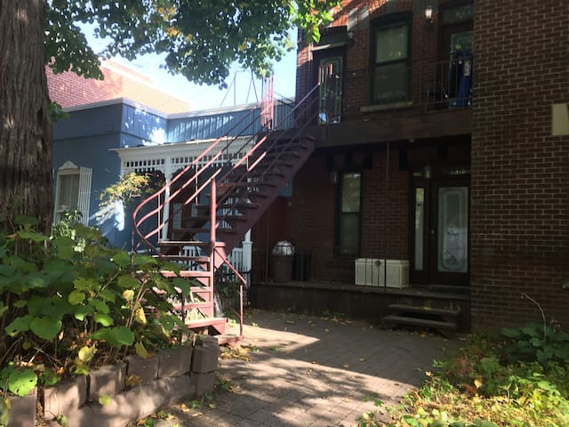 Beautiful 2 bedrooms apartment - Plateau MontRoyal - Montreal - Daire