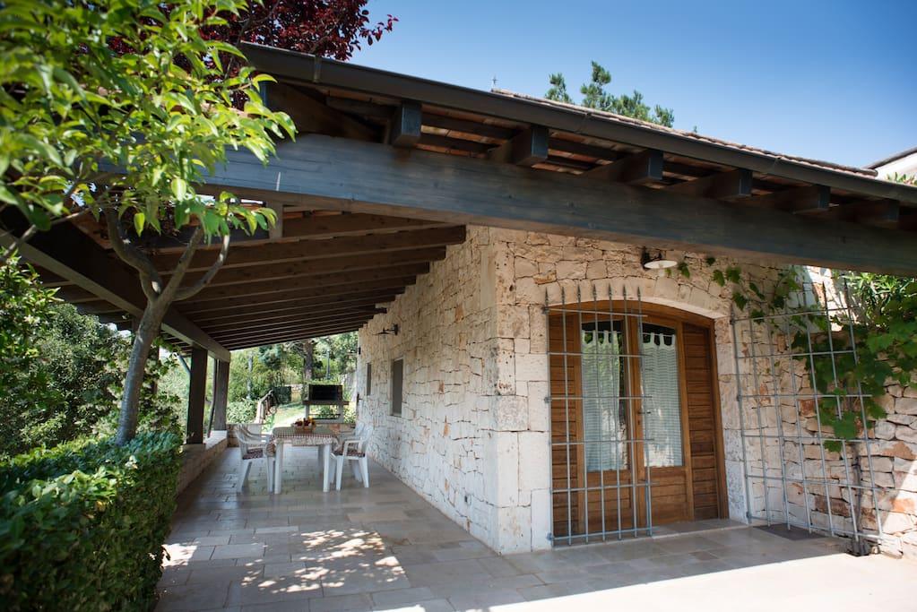 Veranda e ingresso monolocale Oberon