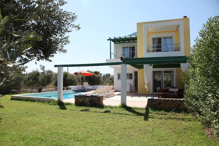 Villa-1,near the beach 'n golf-private pool-garden - Afantou - Villa