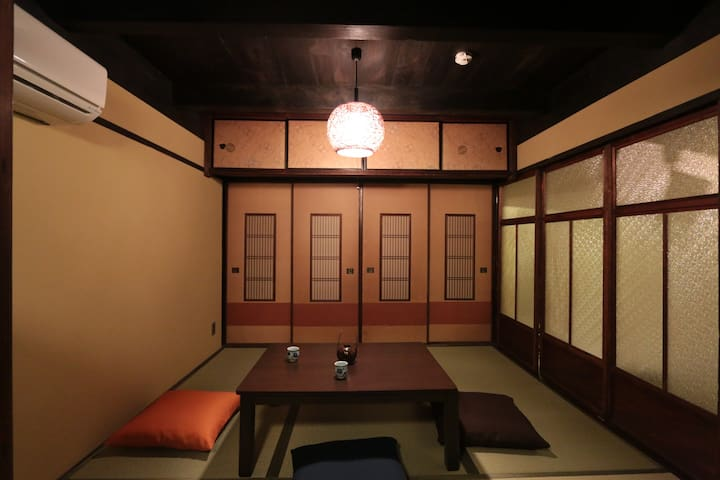 15 mins from Kyoto St./Standard Tatami for 2people