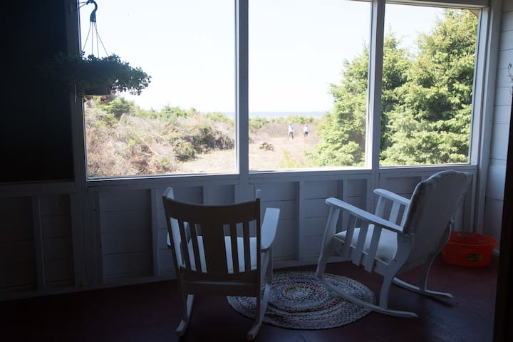 Private Beach Front Country Cottage - Mount Stewart - Chatka