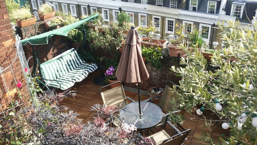 Rooftop terrace apartment paradise - Londra - Daire