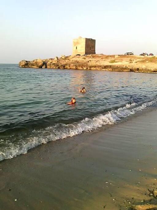 spiaggia Torre Pozzillo