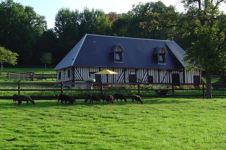 Chambre d'hôtes dans longère normande - Manerbe