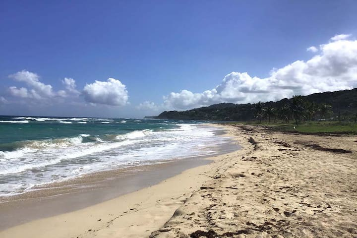 Our Beach.  Come to Long Bay and enjoy a nice Caribbean white sand beach without a crowd!!  This is a great spot for walking, running, fishing, swimming and relaxing.  What are you waiting for? Come join us!