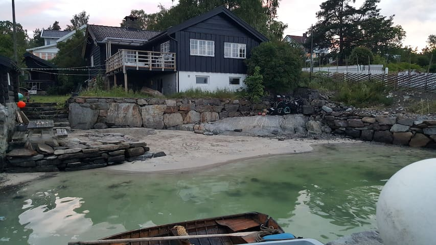Home with your own privat beach. - Nesodden - Hus