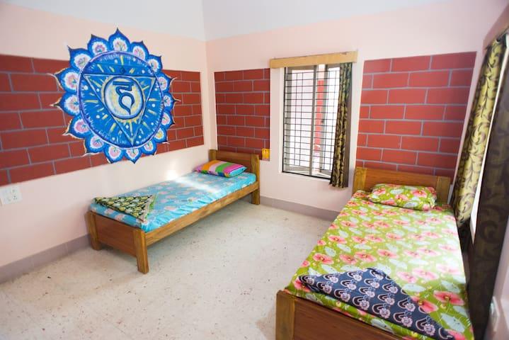 """Visuddha"" twin bed room"
