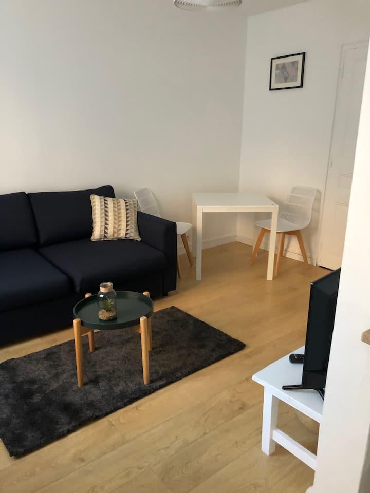 Studio tout confort proche du Parc du Tremblay