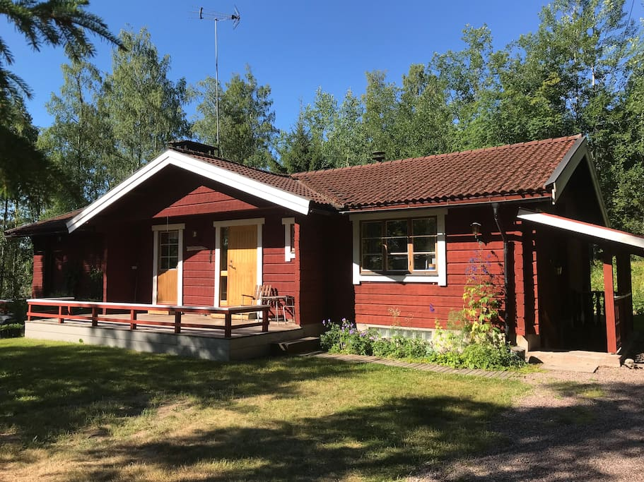 House in summer