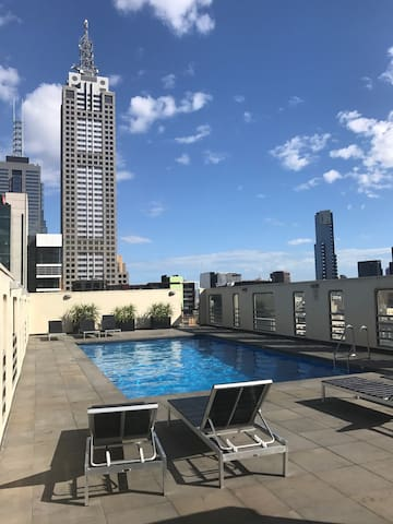 Cosy Apartment with Free Wifi, Mini bar & Netflix - Melbourne - Byt