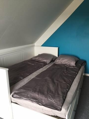 To værelse