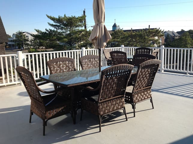 Best Location on LBI - Beach Haven! - Beach Haven - Casa