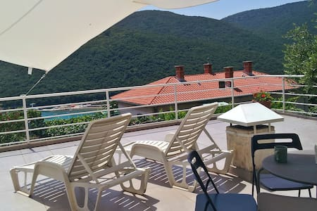 Comfortable 1B apartment - Rabac - 公寓