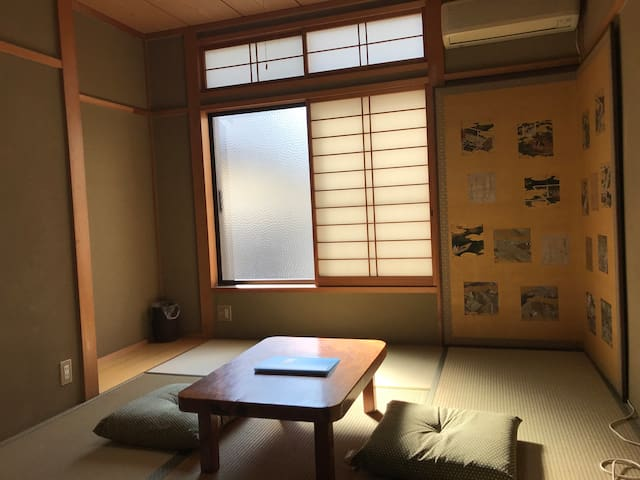 More & More : Japanese wooden room up to 3 persons