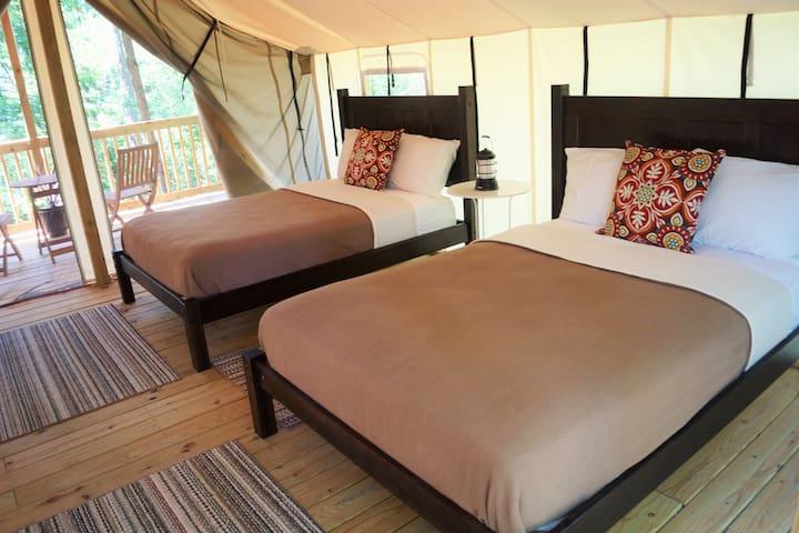 Seneca Sol Tent (2 Full) - Oak - Burdett - Barraca