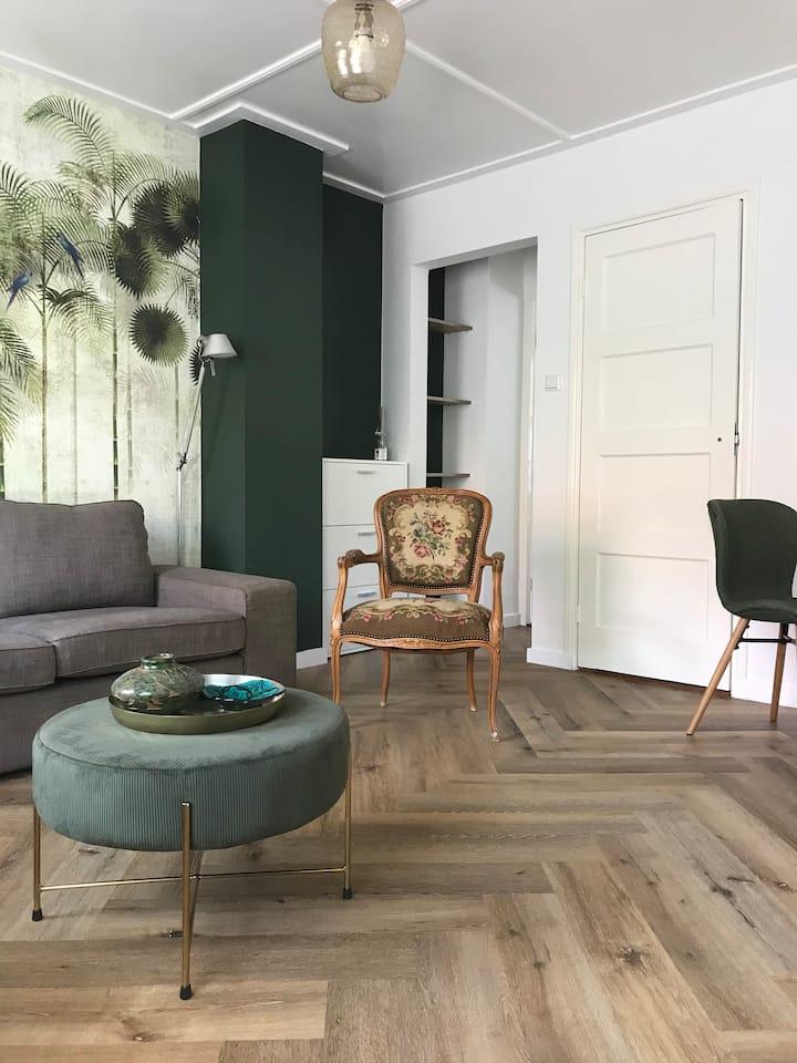 Appartement  (3 k., 4 p.) in hartje Middelburg.