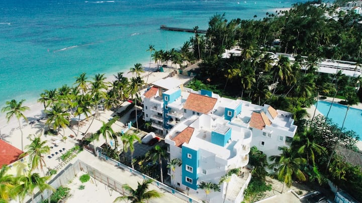 2 BDR Apartment - Private Beach Front Community