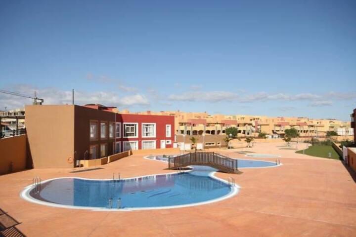 Alojamiento entero en Corralejo con Terraza