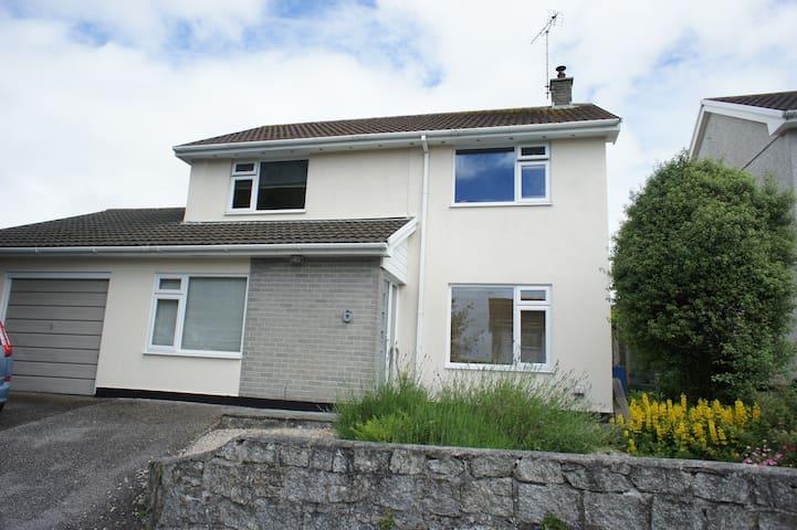 Family home in Cornish village