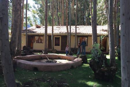 Peaceful cabin and garden in Pisac - Pisac - Osakehuoneisto