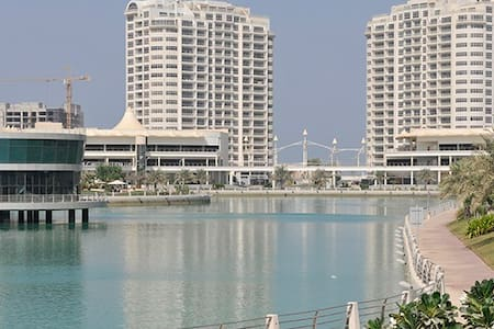 Luxury spacious 2BR apt in Amwaj - Appartamento