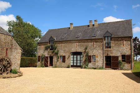 Le Hutereau - Three gites with a heated pool - Saint-Denis-de-Gastines - Ev