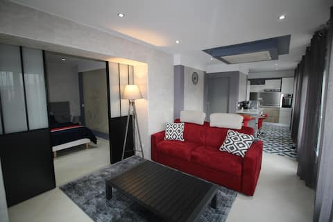 Appartement 53m2 indépendant dans maison