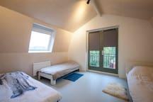 bed room 1, 2nd floor