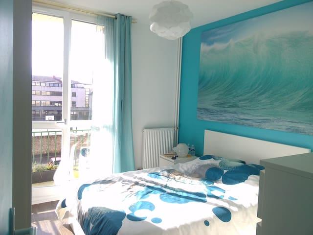 Chez Sylvie : Chambre double à Rambouillet - Rambouillet - Apartment