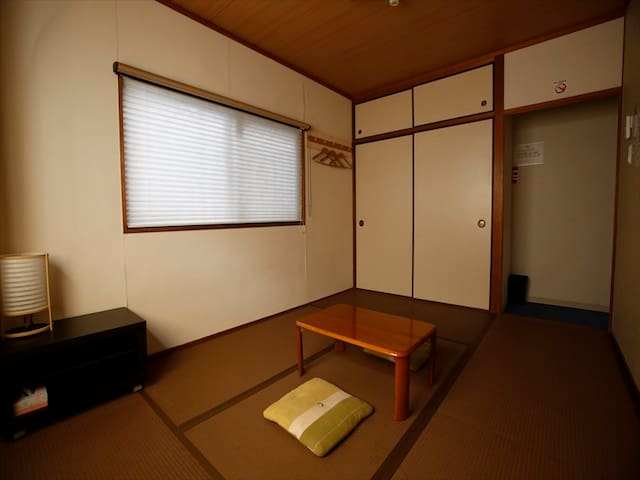 ★Cozy Quiet★Japanese room for 3 persons