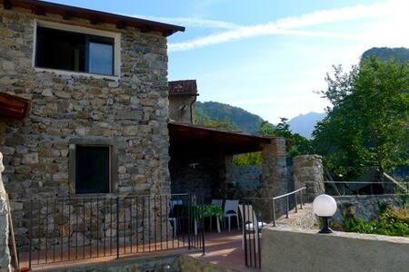 Casa Roccaforte - Cocciglia - Bagni di Lucca  - Rumah