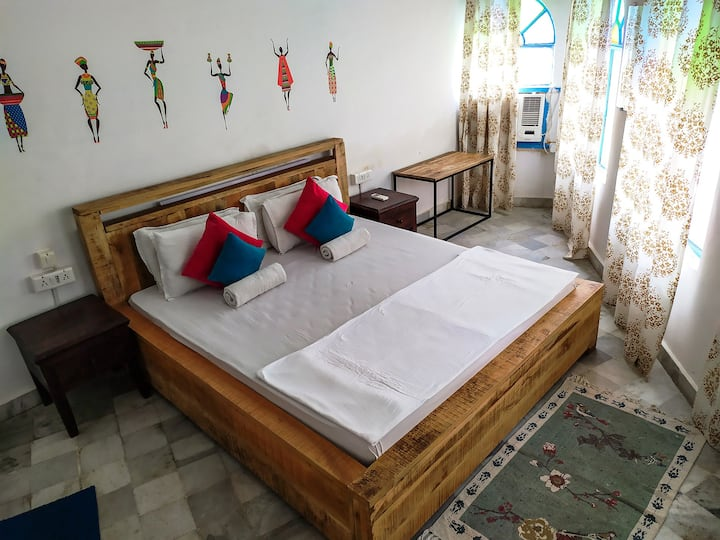 Deluxe Double Room AC by Moustache Udaipur