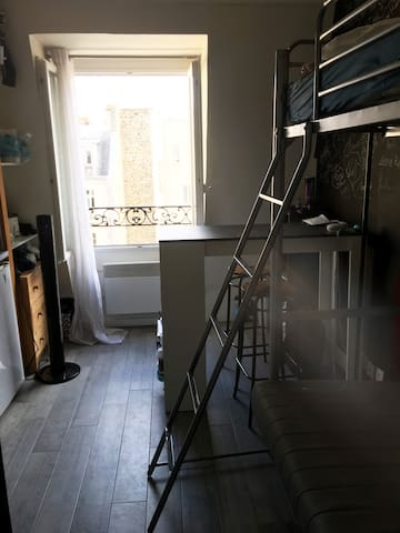 Cosy and calm studio nearby the Eiffel tower