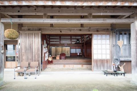 Sado island/100years old, Japanese-classical house