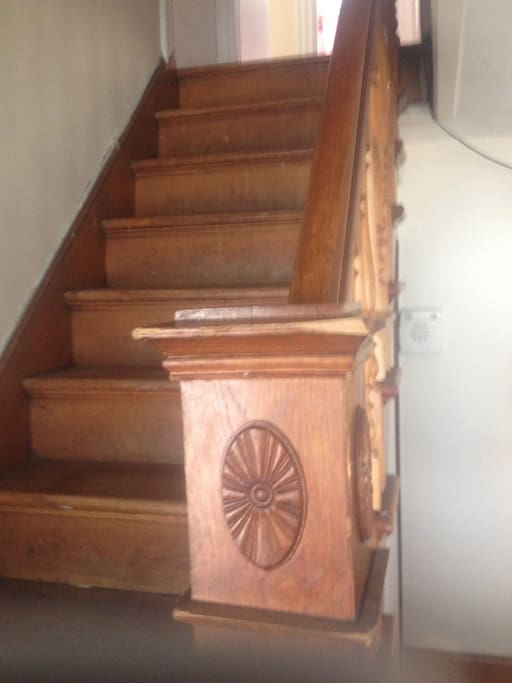 Old-fashioned staircase