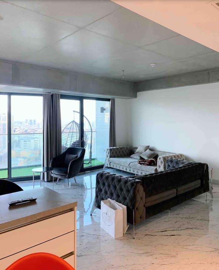 High Rise Luxury Flat In Sisli Bomonti