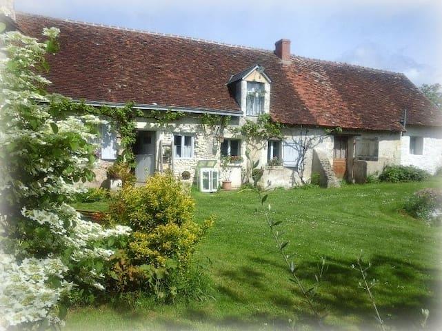 Longère zoo Beauval+châteaux Loire4 - ORBIGNY - Rumah