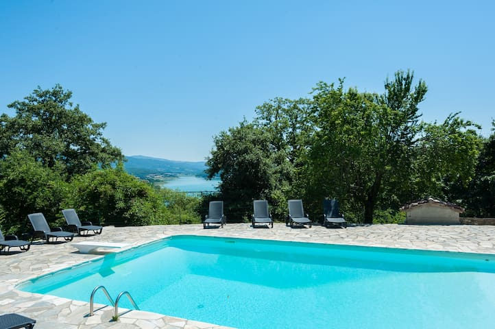 6 bedroomTuscan farmhouse with pool - Caprese Michelangelo - Villa