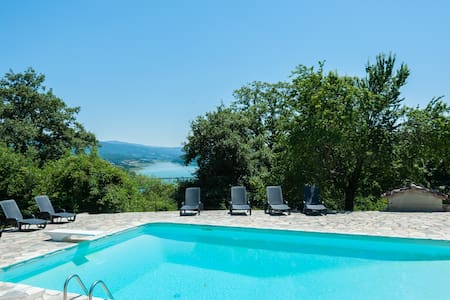 6 bedroomTuscan farmhouse with pool - Caprese Michelangelo - Casa de camp