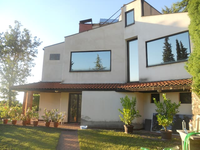 Villa in Ohrid with beautiful lake view