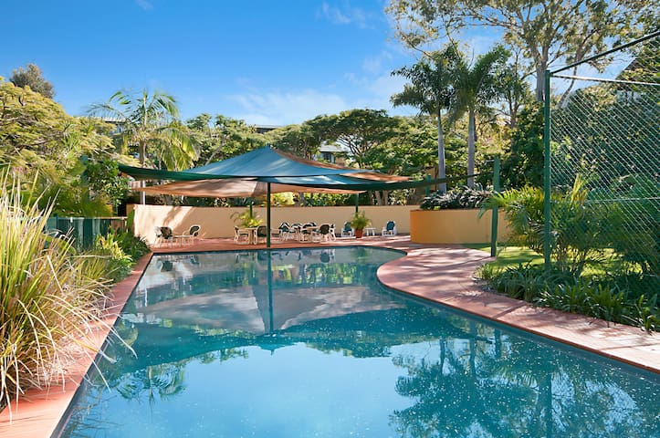 Byron Bay Tropical Garden Apartment