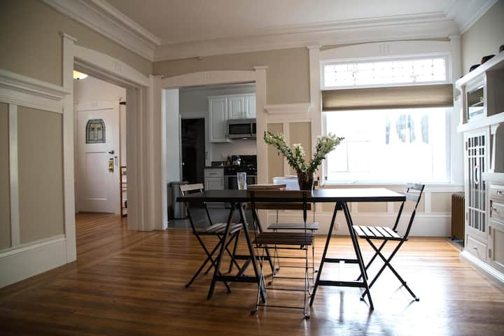 CLEAN & SAFE Charming Private Room SF PRIME area!
