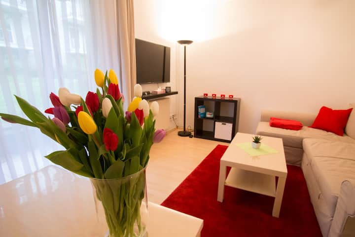 Relax in a nice and modern 2 room flat