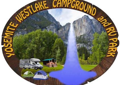 Yosemite Westlake Tent Campsite #3