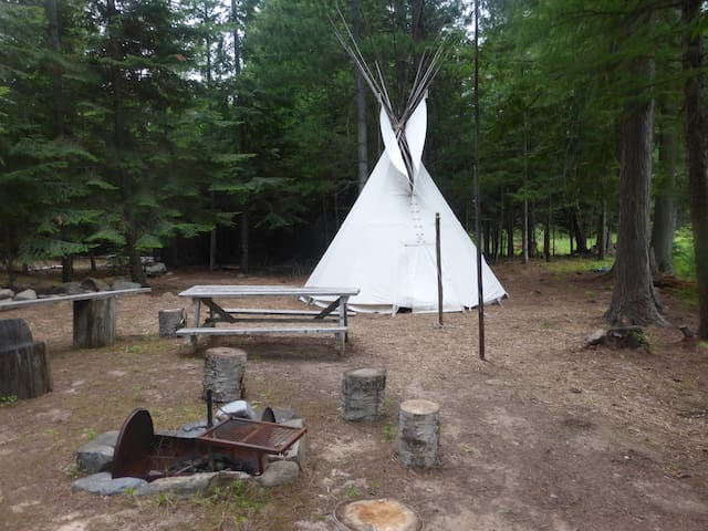 Creekside Tipi