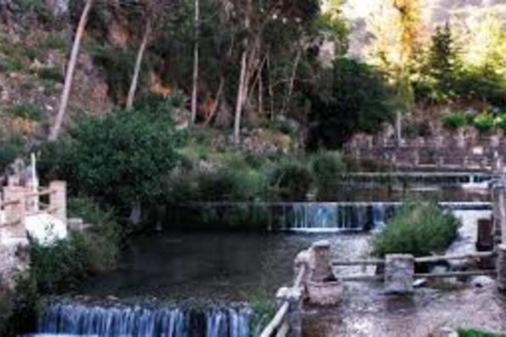 Nacimiento del rio Genal en invierno Espectacular